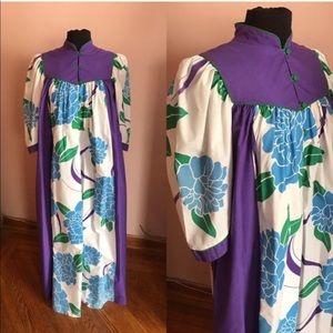 🎉HP🎉 Vintage Hawaiian maxi tent dress